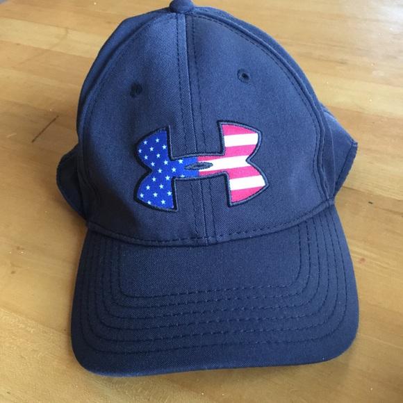 Under Armour Patriotic Hat. M 5a81f3482ab8c5877f83ecc4 2ad9b0cb2e2
